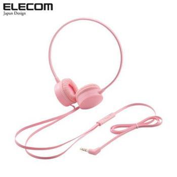 日本ELECOM(宜丽客)原装进口 可通话 水果硬糖耳机二代 扁平防缠绕线
