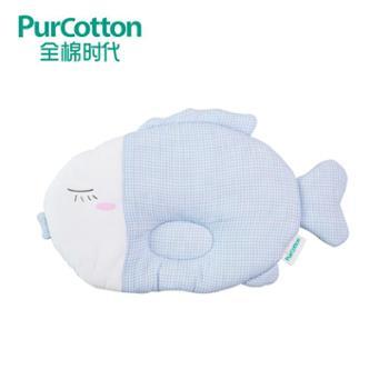 全棉时代婴儿纱布透气定型枕新生儿宝宝防偏头定型枕头