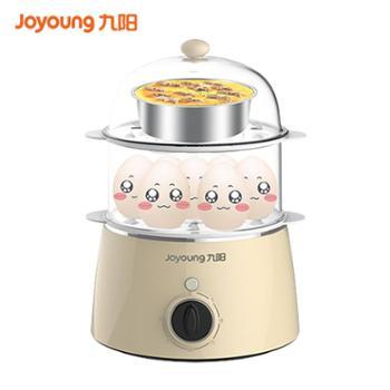九阳煮蛋器蒸蛋器自动断电迷你煮鸡蛋羹机小型家用早餐神器1人