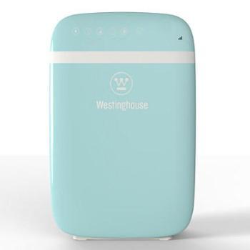 美国西屋 空气净化器家用家庭客厅卧室负离子氧吧除甲醛烟尘 定时