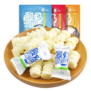 小奶花酸奶凝固了网红儿童零食200gX1袋内蒙古特产奶酪