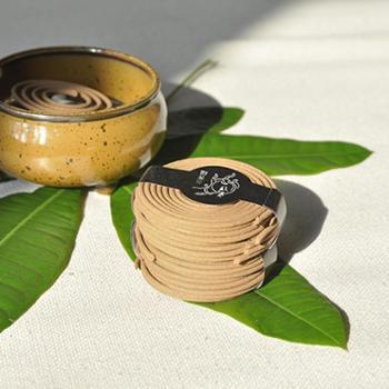 三菩提春生线香盘香汉方养生天然熏香养血疏肝滋水涵木