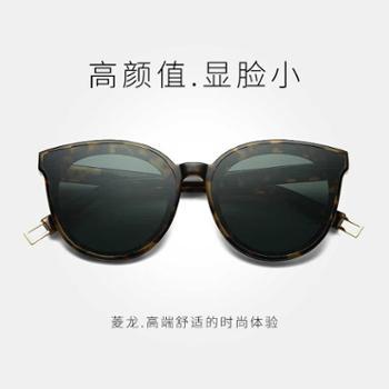 RL-gm墨镜女新款韩国复古太阳镜潮圆脸个性网红明星款眼镜