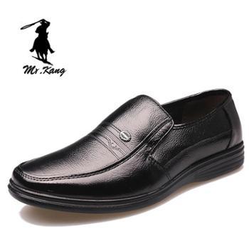 米斯康MR.KANG男鞋英伦商务鞋正装男士皮鞋男软皮软皮休闲鞋子男778