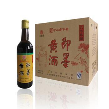 即墨牌-即墨黄酒八年陈酿-480mlx12瓶