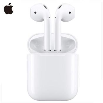 苹果Apple AirPods蓝牙无线耳机MMEF2CH/A 白色 国行原封