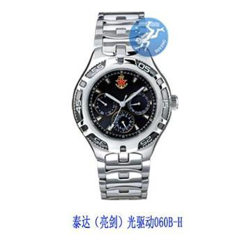 泰达(亮剑)光驱动手表060B-H