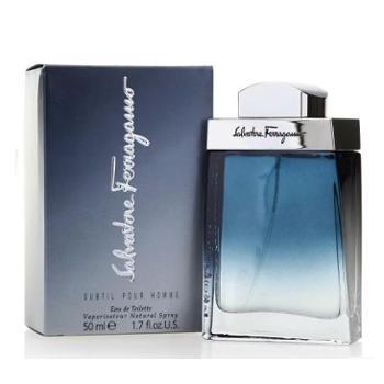 菲拉格慕蓝色经典男士淡香水50ml清新持久留香诱惑男人味香氛