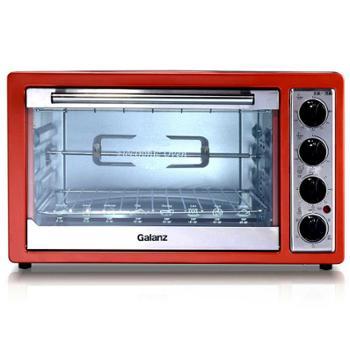 Galanz/格兰仕K3电烤箱30L升家用烘焙光波速热带旋转烤叉烤箱