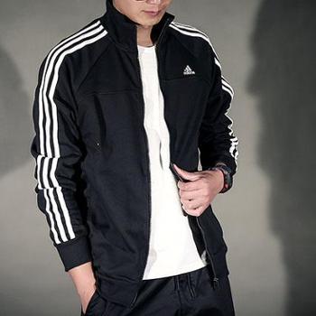 adidas阿迪达斯男子运动卫衣休闲外套男款夹克X21108