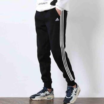 Adidas阿迪达斯男裤运动裤透气休闲长裤小脚裤BP8742SH
