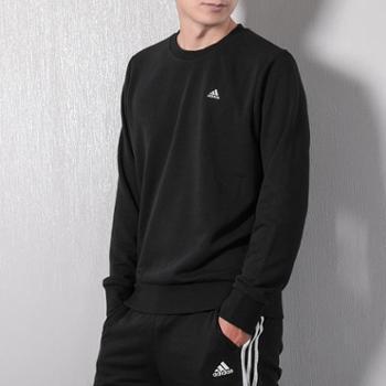 Adidas阿迪达斯运动卫衣男2018秋季新款宽松休闲套头衫运动服长袖DT2504