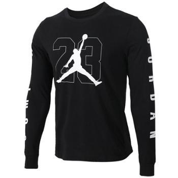 耐克男装休闲长袖T恤运动卫衣透气套头衫AQ3702-010-100SF
