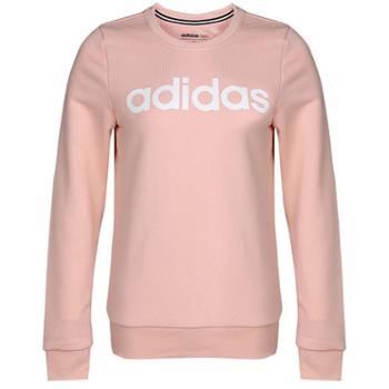 adidas阿迪达斯女子运动休闲圆领卫衣套头衫长袖W CE SWT DM4129 DT8272-MG