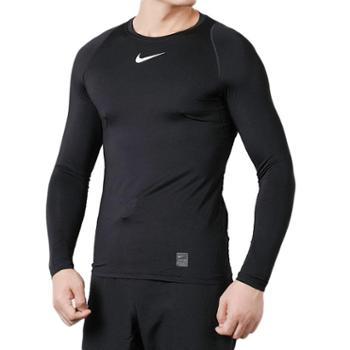 Nike耐克 男装2019年新款运动服健身训练紧身长袖T恤838082-010-F