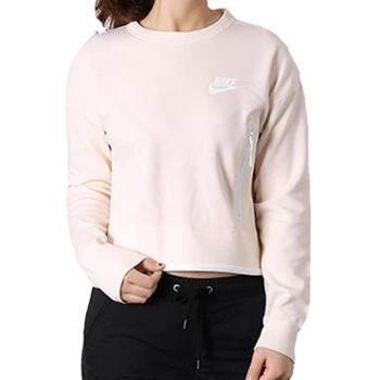 Nike耐克女装休闲长袖运动卫衣落肩圆领套头衫939930-011