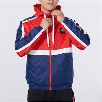 Nike耐克男装运动防风衣休闲连帽外套BV5184-657JY
