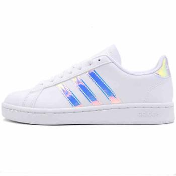 Adidas阿迪达斯镭射女鞋NEO板鞋运动鞋休闲鞋EE9689