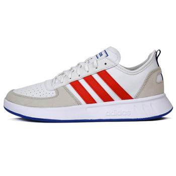 Adidas阿迪达斯夏季男子COURT80S运动休闲训练网球鞋EF9474