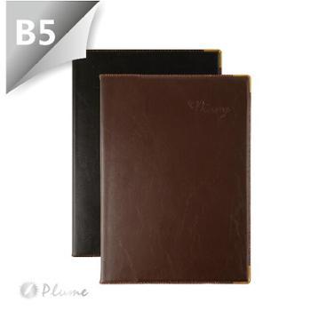 金辉JH-16162B5PU软皮笔记本160页记事本1本(颜色随机)