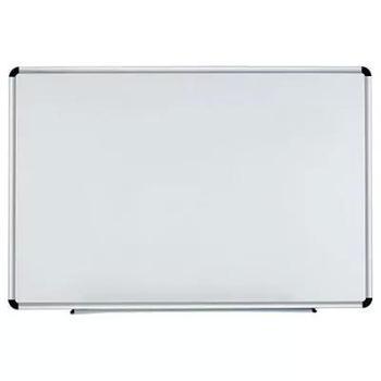 deli得力书写板双面板磁性黑板挂钩绿板600mm*900mm
