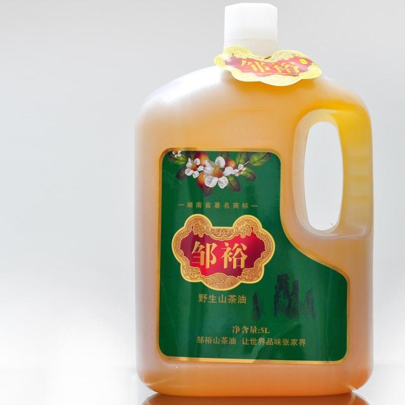 裕丰米业 野生山茶油5L 物理压榨工艺制取 营养不流失