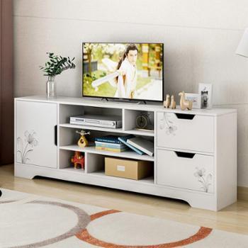 蔓斯菲尔电视柜现代简约小户型迷你地柜客厅简易电视柜储物背景柜