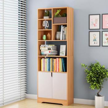 (生活用品收纳)书柜书架落地简约桌上现代简易卧室置物架创意学生自由组合小书柜