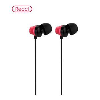 【众智通讯】Recci锐思耀动系列入耳式耳机K歌电脑手机游戏HiFi耳机重低音线控苹果耳麦华为vivo小米OPPO手机