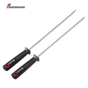 LANDMANN兰德曼不锈钢烧烤工具烧烤针烤肉串必备肉串签子肉签