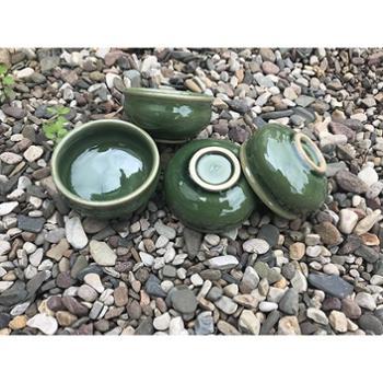 豆青釉小水缸茶杯