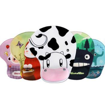 梦天卡通鼠标垫护腕 创意3d可爱硅胶手枕记忆棉厚游戏手腕垫托腕