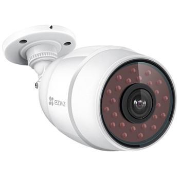 萤石4mm高清夜视摄像头智能无线网络摄像头wifi远程监控摄像机防水防尘枪机ipcamera