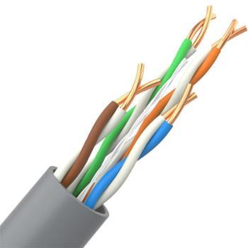 山泽(SAMZHE)CAT5e类非屏蔽网线原装超五类网线【工程版无氧铜线芯】