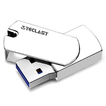 台电(Teclast高速USB3.0全金属U盘 亮银色64GB