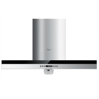 美的DT328欧式抽油烟机家用顶吸式壁挂脱排厨房吸油烟机