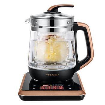 荣事达养生壶全自动加厚玻璃电煮茶壶多功能烧水煮茶器黑茶煎药壶