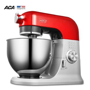 北美电器(ACA)厨师机家用和面机揉面机打蛋机头抬起动断电器多功能搅拌机料理机打奶油机鲜奶机