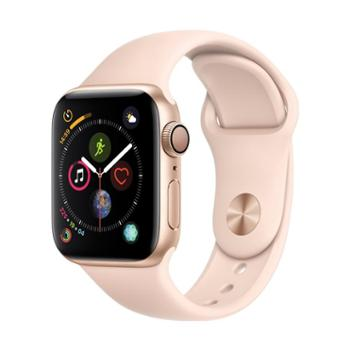 2018新品 Apple Watch Series4 苹果智能手表4代 表壳尺寸40mm GPS版