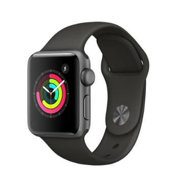 Apple Watch Series 3 苹果手表运动智能手表3代防水电话 38毫米(适合130-200毫米腕围) GPS + 蜂窝网络表款