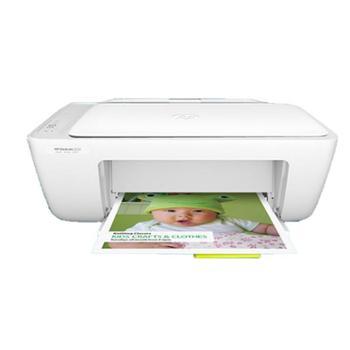 惠普2132彩色喷墨打印机一体机小型家用照片A4复印黑白学生多功能