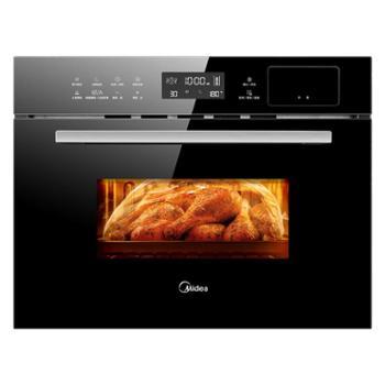 美的(Midea)伯爵 蒸汽烤箱 嵌入式电蒸箱电烤箱 家用大容量蒸烤一体机