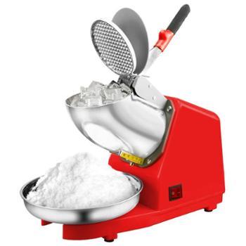 侬心双刀碎冰机商用大功率打冰机小型刨冰机电动奶茶店手动冰沙机