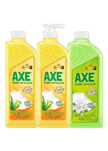 斧头牌柠檬洗洁精1.18kg瓶装护肤家庭装家用大桶果蔬清洗