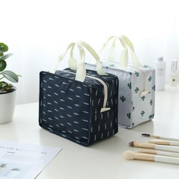 (生活用品)洗漱包化妆包防水浴包旅行便携大容量可折叠洗澡收纳包