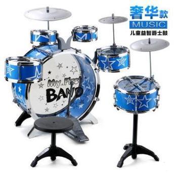 儿童玩具爵士鼓套装脚踏大号架子鼓6鼓3嚓乐器玩具