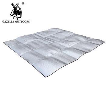 200*200单面铝膜防潮垫3-4人防潮垫EVA铝膜