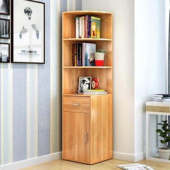 (生活用品)简易书柜书架创意书架子简约现代小书柜多功能置物架大容量收纳柜