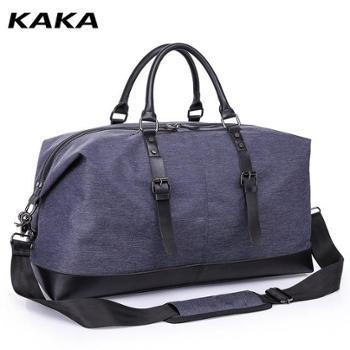 旅行包男士时尚潮流个性手提包大容量短途出差旅游单肩斜挎行李袋