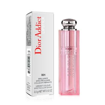 Dior迪奥粉漾魅惑润唇蜜唇彩口红变色唇膏3.5g 001#粉色 (004#橘色请备注)赠送化妆包1个